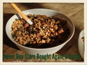 Never Buy Store Bought Again Granola